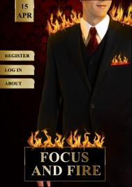 Focus and Fire event app design
