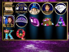 """Queen of Diamonds"" Slot Game Design"