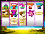 """Tropical 7s"" Slot Game Design"